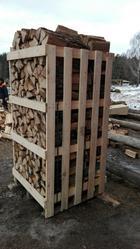 Продаю свежие колотые дрова: дубовые,  берёзовые,  хвойные (ель/сосна) - foto 0
