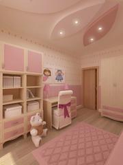 Ремонт детской комнаты для вашего ребенка под ключ недорого